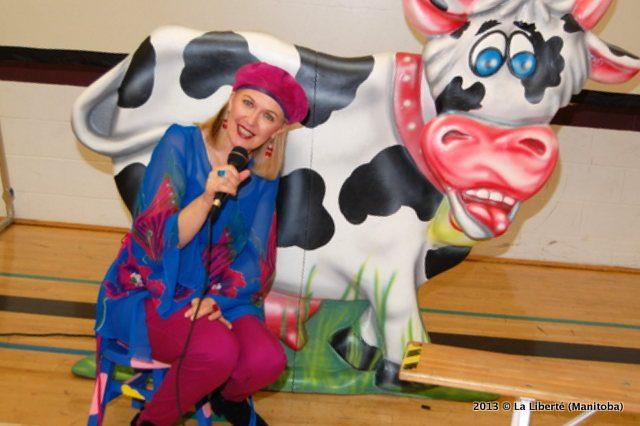 Carmen Campagne - ©La Liberté (Manitoba)