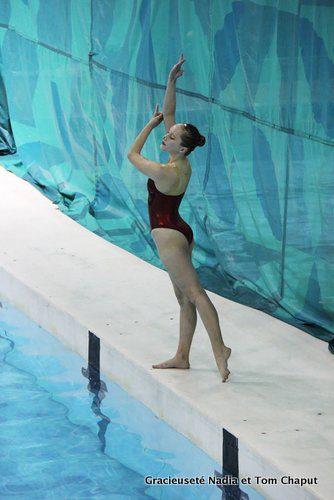 Tamara Chaput : « C'est en développant ma propre routine que je peux exprimer toute ma créativité comme nageuse. »