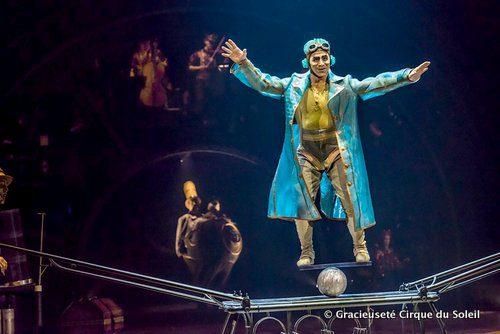 Le Cirque du Soleil présente son spectacle Kurios : Cabinet des curiosités jusqu'au 9 juillet à Winnipeg.