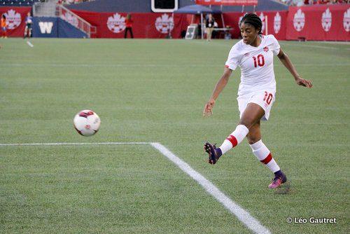 La numéro 10 canadienne a été très en vue face au Costa Rica. Ses appels dans la défense, sa percussion et son jeu rapide auront fait mal aux adversaires.