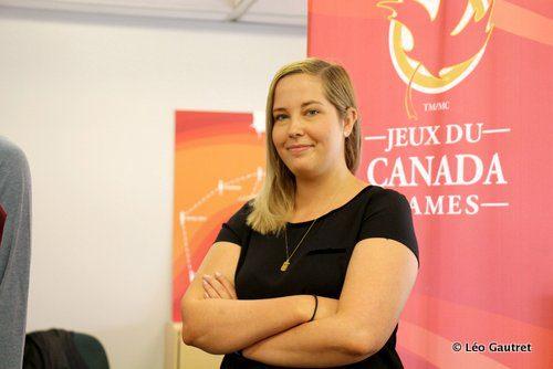 Depuis mars, Kali Prieur est en charge de la coordination des cérémonies de remise des médailles des prochains Jeux du Canada de Winnipeg, sa ville natale.