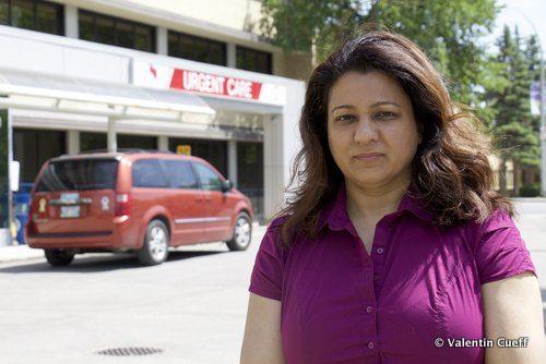 Dr Jennifer Rahman, ophtalmologiste, s'inquiète du signal envoyé par le gouvernement aux patients et aux donateurs de l'Hôpital Misericordia.