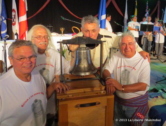 Cloche de Batoche - La Liberté