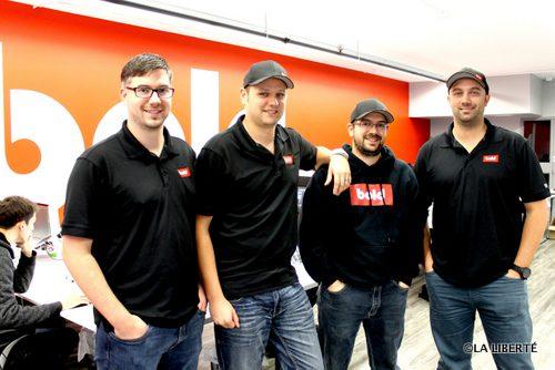 L'entreprise Bold Innovation Group Ltd est victime de son succès. Les quatre copropriétaires, Jason Myers, Stefan Maynard, Eric Boisjoli et Yvan Boisjoli, veulent percer un peu plus le marché manitobain.