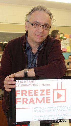 Pascal Boutroy, le cofondateur du Festival international de films pour enfants de tous âges Freeze Frame, invite enfants et adultes à élargir leurs horizons cinématographiques.