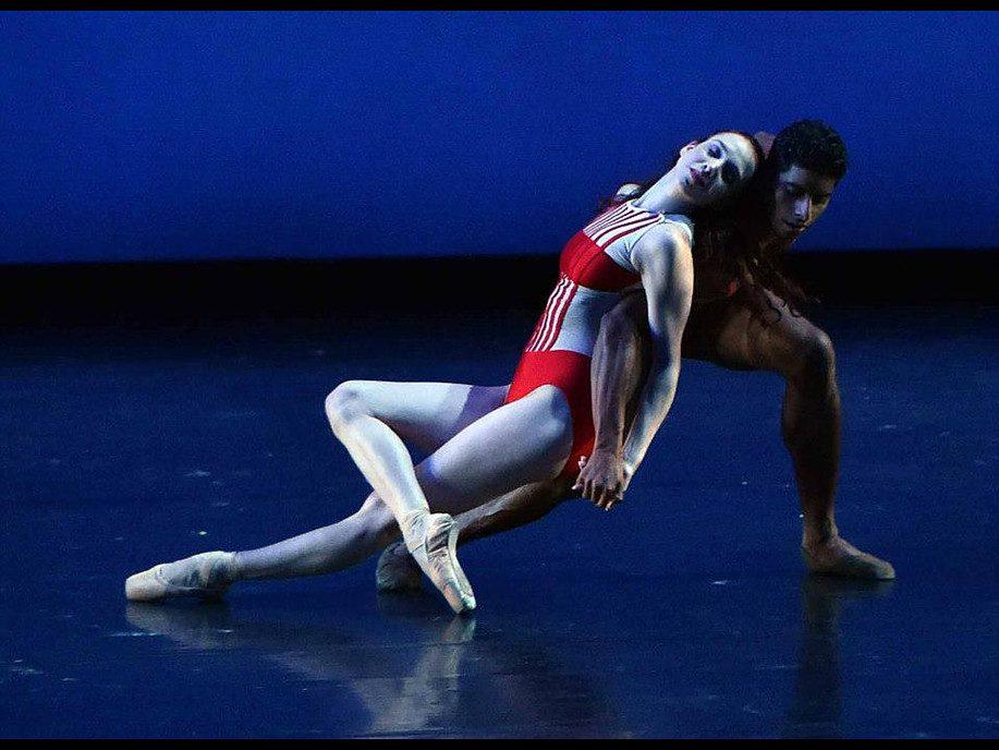 Rebecca King et Amar Ramasar dans Blushing, 2015 Crédit photo : Dave Friedman