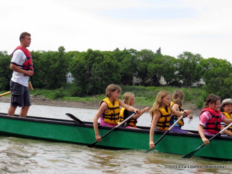 Centre de canot et de kayak du Manitoba.