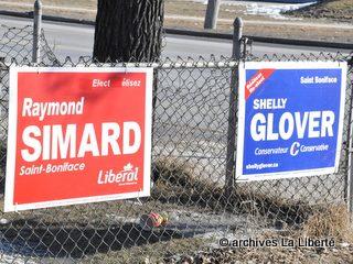 Campagne électorale fédérale à Saint-Boniface 01