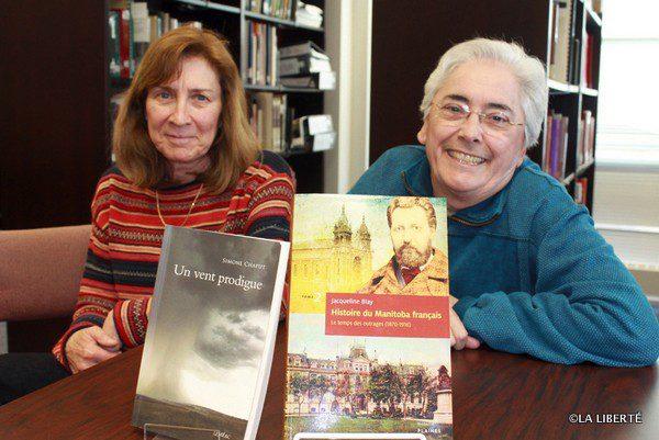 Simone Chaput et Jacqueline Blay ont mis la francophonie manitobaine à l'honneur avec leurs livres respectifs qui se sont vus attribuer un prix Champlain.