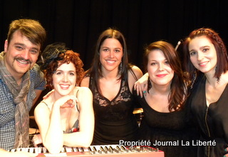 Chic Gamine, 2011 : Le concert