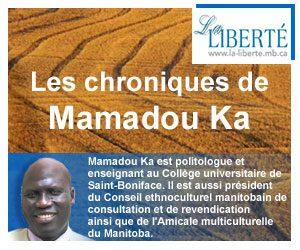Chronique Mamadou-Ka