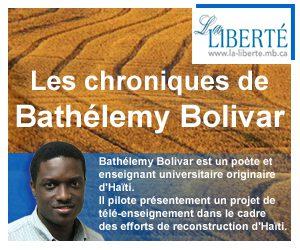 La Liberté | Chronique reconstruction d'Haïti
