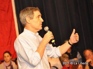 Michael Ignatieff  à Saint-Boniface