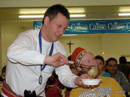 Une compétition de soupe aux pois aura lieu au Festival des Amis de Saint-Malo. Que la meilleure soupe gagne!
