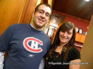 Marc Foidart et Emili Bellefleur