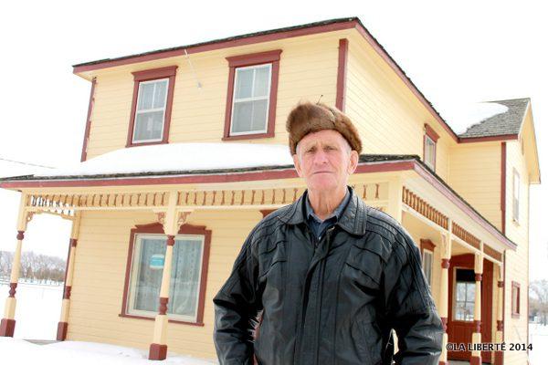 Le porte-parole de la famille Fournier, Bernard Fournier, espère que la maison de son enfance trouvera un nouveau propriétaire.