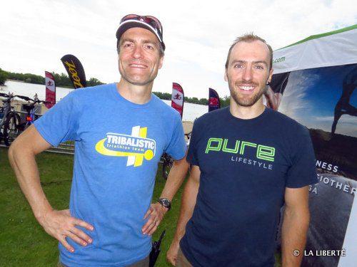 Marc Fournier et Jean-François Bérard. Dans l'esprit olympique.