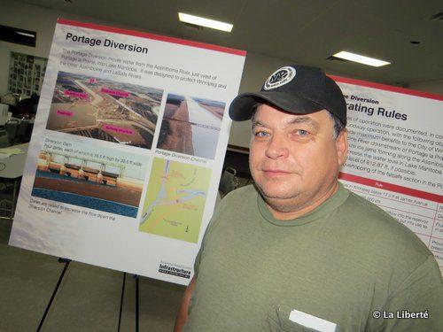 Alain Gaudry, le président de l'Association des pêcheurs commerciaux du lac Manitoba.