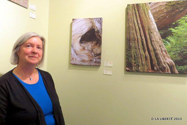 L'exposition intitulée Arborescence est visible à la Wayne Arthur Gallery.
