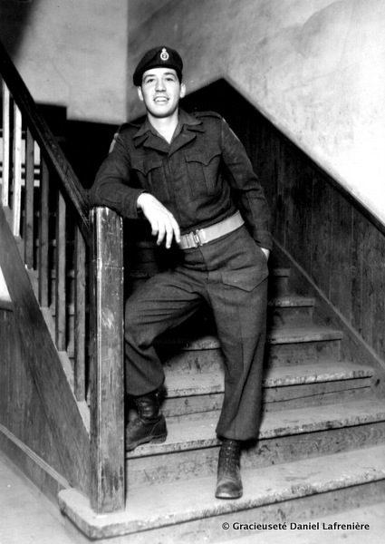 Daniel Lafrenière en 1951.