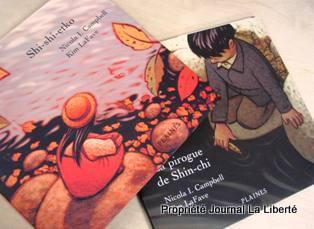 Shi-shi-etko et La pirogue de Shin-chi