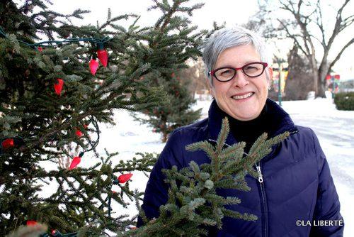 La coordonnatrice de la guignolée, Carole O'Brien invite la communauté à se mobiliser pour célébrer ensemble Noël.