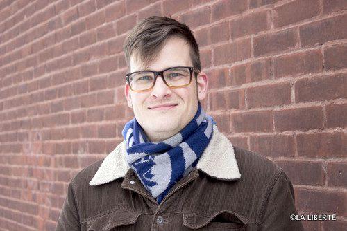 Stéphane Oystryk est ravi que FM YOUTH soit projeté de l'autre côté de la rivière.
