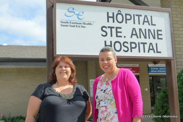 Hôpital de Ste-Anne.