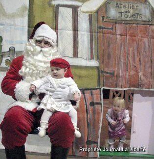 Première rencontre avec le Père Noël