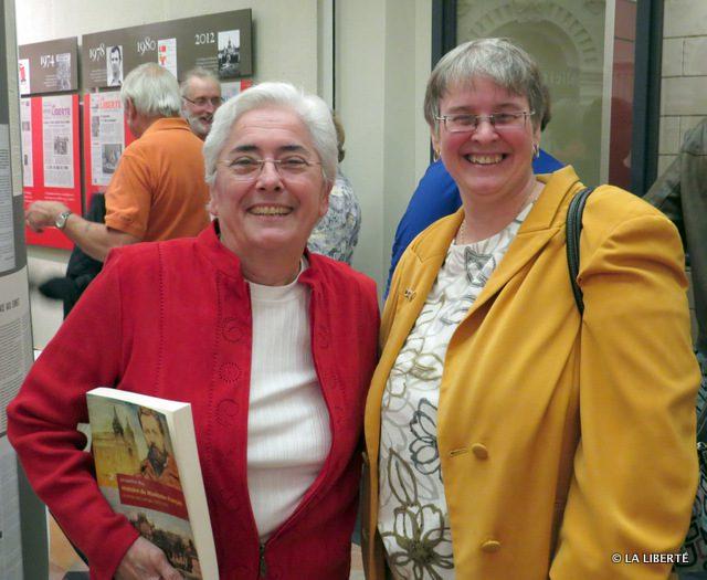 Jacqueline Blay et Joanne Therrien.