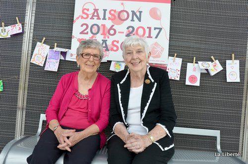Bernard Bocquel a fait appel en particulier aux souvenirs de Marcelle Forest (à gauche) et de Lucienne Boucher (à droite) pour retisser les origines de l'évènement.