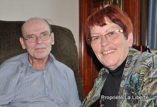 Robert Prior et Nicole Magnan