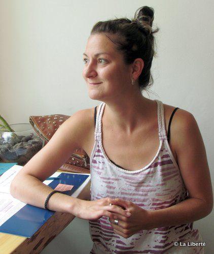 Melanie Rey a la charge de coordonner le concours annuel organisé par la Chambre de commerce francophone de Saint-Boniface.