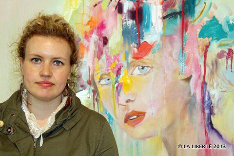 Mélanie Rocan présente son travail, Souvenir Involontaire.