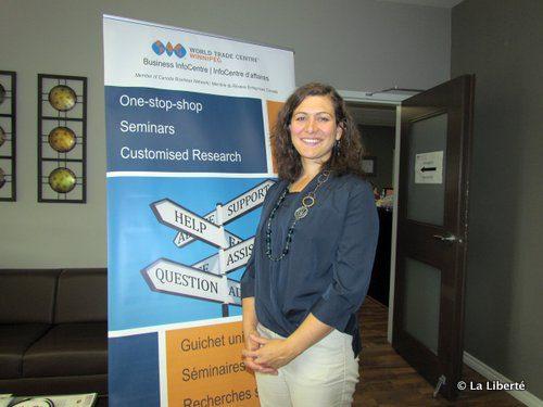 Nathalie Roche, gestionnaire du Business InfoCentre Winnipeg.