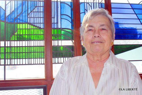 Claudette Savard, membre du comité de l'initiative Amicappel, espère que ce projet permettra à la communauté de s'intéresser encore plus aux aînés.