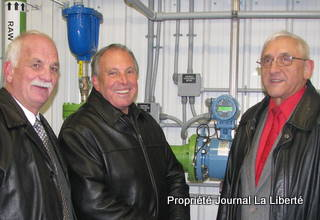 Lorette, usine traitement de l'eau