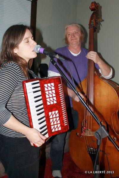 Anne-Marie Williot et Patrick Boggs.