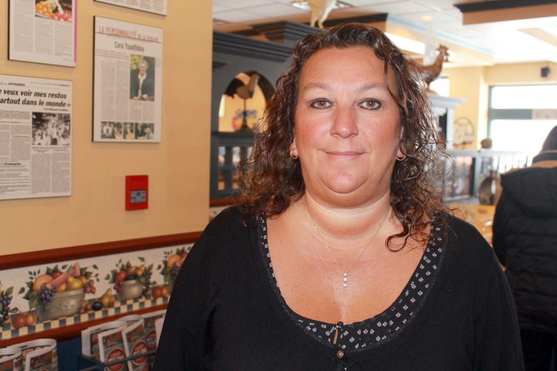 La franchisée de Chez Cora, Tina Wood pense pouvoir s'adapter à la nouvelle vision du CCFM et ne comprend donc pas pourquoi son actuel restaurant ne bénéficie pas du premier droit de refus pour renouveler son bail.